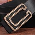 Caliente de Alta Calidad de Diseño de La Correa 2015 de Metal De Ancho Cinturón Negro Mujeres Red Elástica Cinturones Señoras de la Manera de La Pretina de Envío Gratis