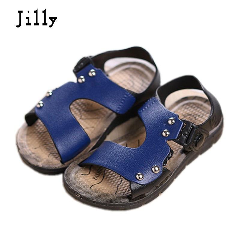 sommer 13cm ~ 20cm glidebestandig slidstærk casual Børn baby dreng børnesko barn Sandaler kid piger til sommer sandaler