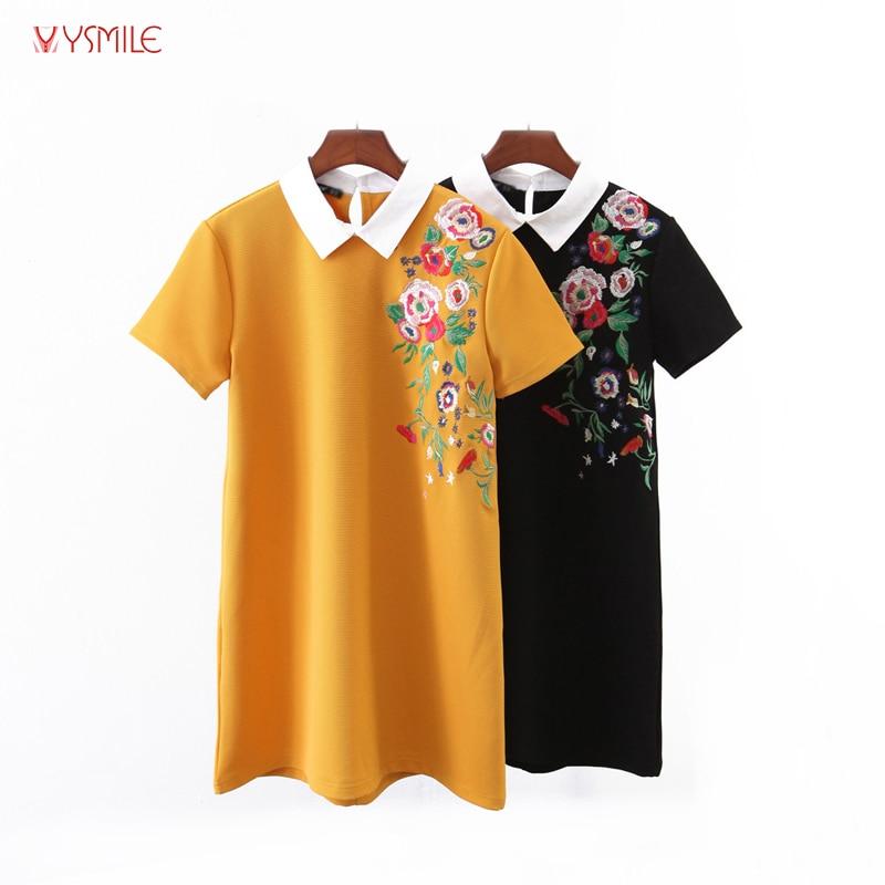 YSMILE Y Moterų kasdieniai drabužiai Mieli sukti apykaklę gėlių - Moteriški drabužiai - Nuotrauka 1