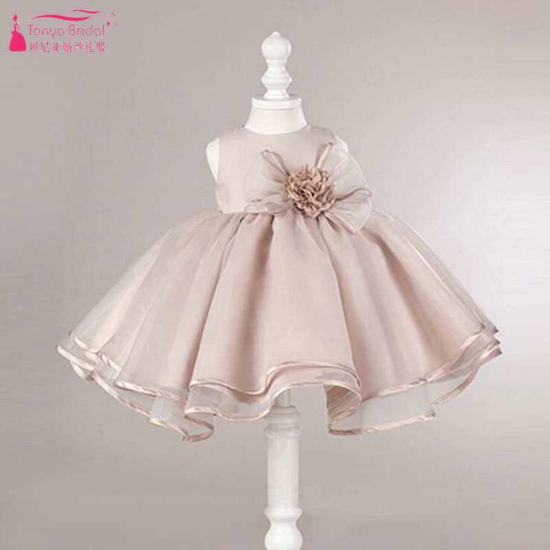 Flower     Girls     Dress   for Wedding And Party   Girls   Lovely Bany Pageant Gowns Birthday Party wear In Stock ZF063