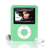 Portable Video Player Slim MP3 8GB 1 8 LCD Media Video Game Movie Radio FM 3th