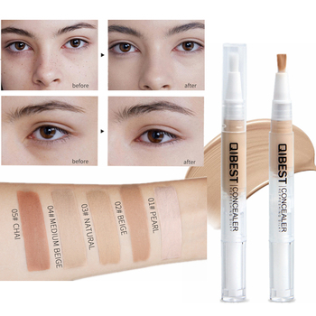 5 Color Face Concealer Contour Stick Dark Circle Concealer Liquid Correctors Proofreader Girl Makeup Foundation Pen Consealer