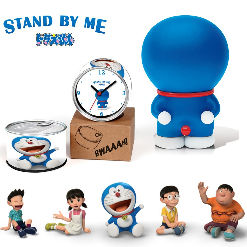 Aliexpress.com : Buy Doraemon Gift Clock Stand By Me 3D