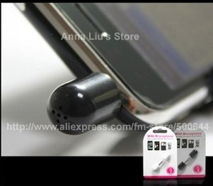 Mini Microphone/Mic Recorder for iPAD/iPhone/iPod & 10PCS/Lot Free Shipping
