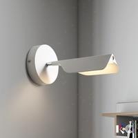 YZKJ Modern Simplicity Luminaria Iron Sconce Black White Wall Light Diningroom Bedroom Fixture Lamp Corridor LED Wall Lights