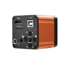 16Mp Industry Camera, 110-240V 1080P 60Fps Hdmi Usb Lab Industrial Fhd Microscope Digital Camera Video Hdmi Usb Us Plug
