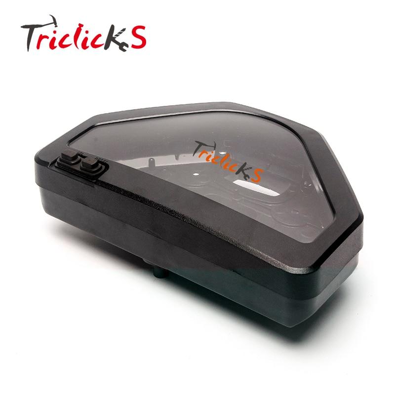 Triclicks Nouveau Speedo Indicateur Jauge Compteur De Vitesse Indicateur de vitesse Etui case Horloge Couvre Voiture-couvre Pour Honda CBR1000RR 2004-2007