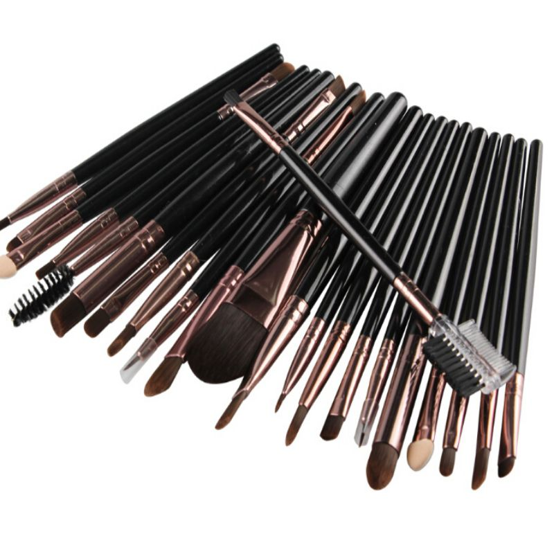 22pcs Makeup New Brush Set Powder Foundation Eyeshadow Eyeliner Lip Cosmetic Brush Kit Beauty Tools new 32 pcs makeup brush set powder foundation eyeshadow eyeliner lip cosmetic brushes kit beauty tools fm88