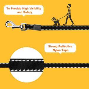 Image 4 - 格納式犬の鎖アジャスタブル 3 メートル手首実行ジョギングペット牽引ロープテリアリーシュベルト犬製品