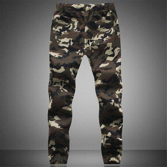 BSETHLRA 2018 New Joggers Pants Men Camouflage Military Pure 100% Cotton Spring Autumn Harem Pant Men Trousers Camo Mens Joggers 4