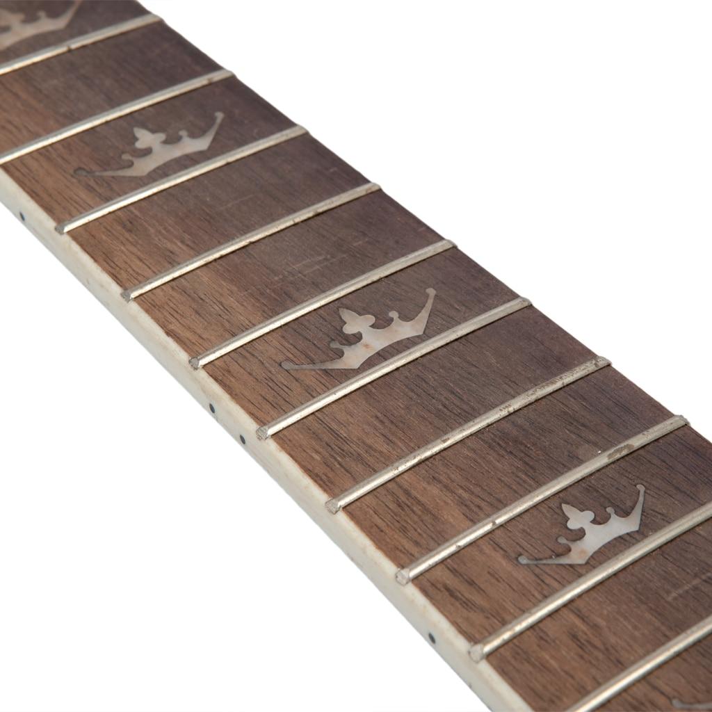 24 Fret Palisander Gitarre Griffbrett Griffbrett Guiutar DIY Teile Zubehör