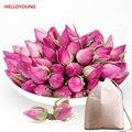 C-ts057 newst 50g rose bud, fragante flower tea cuidado de la salud, la fragancia productos secos brotes color de rosa de la piel alimentos bolsa de té + regalo