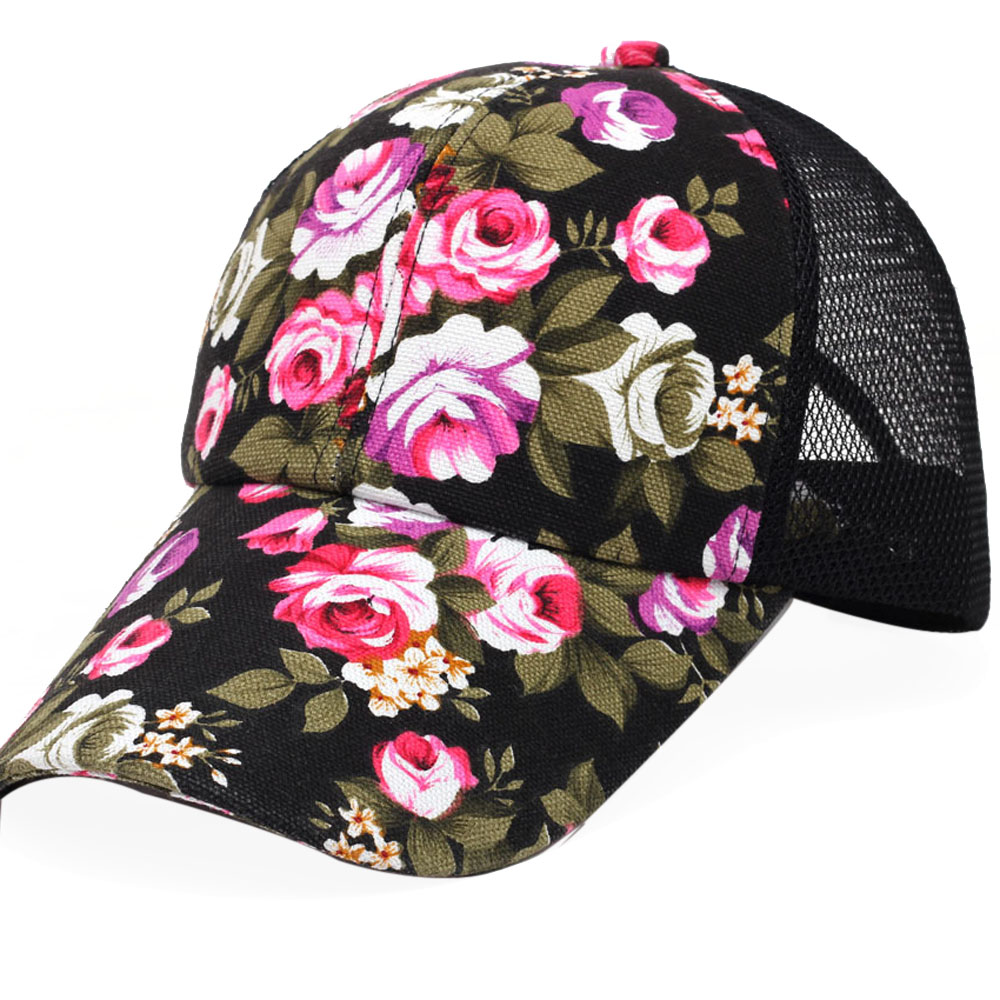 # Vestido 2019 Deporte Embroidery Cotton Baseball Cap Boys Girls Snapback Hip Hop Flat Hat17