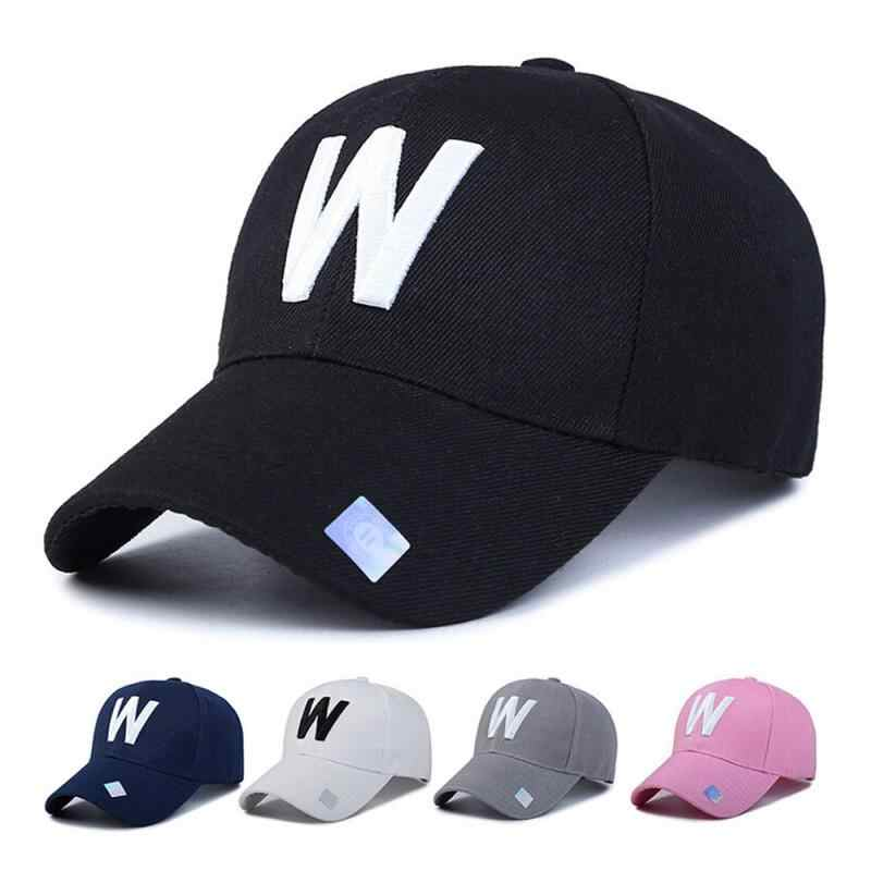 Tennis Caps Hot Sell 2018 Outdoor Women Men Adjustable Simple Solid Letter Embroidery Baseball Tennis Cap  0816