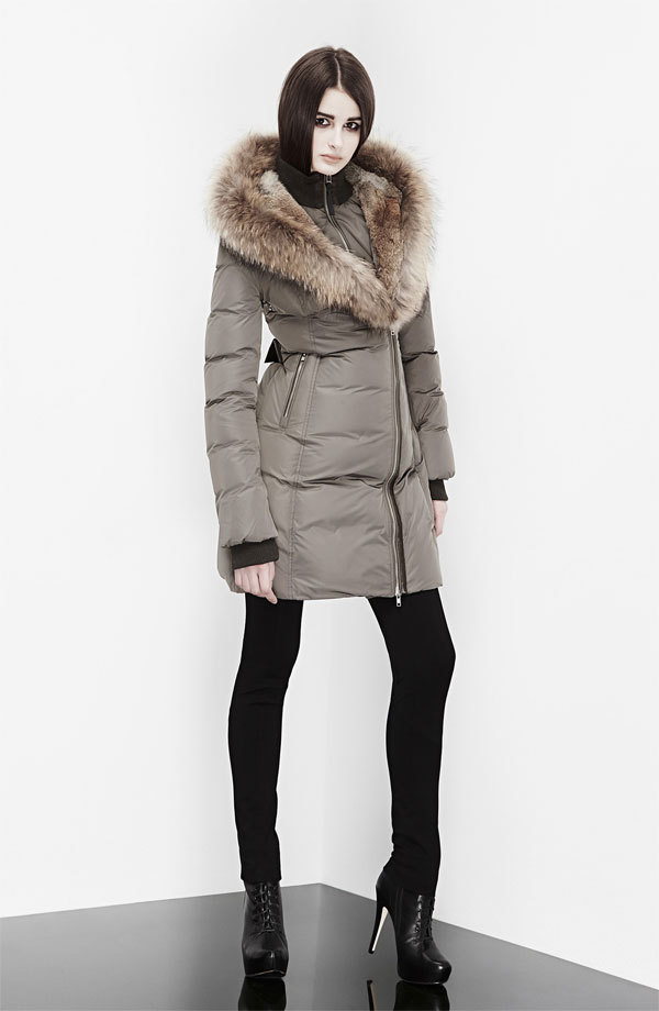Hot brand woman 90% down jacket Mackage Akiva fox & rabbit fur ...