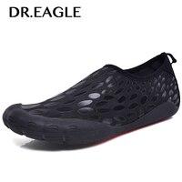 DR.EAGLE Summer Sneaker Aqua water shoes sports slippers swimming socks Men's beach swim mesh diving barefoot gym shoes men