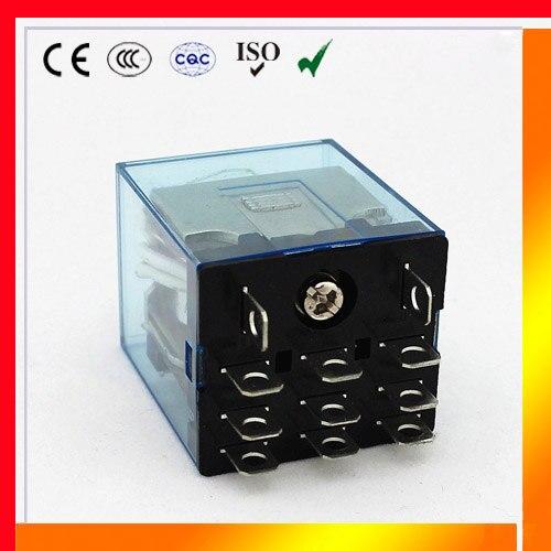 hh63p ly3 3pc lot high quality ly3nj jqx 13f relay 220v 24v 12v 12 rh aliexpress com 12 Volt Relay Radio Shack 5 Pin 12 Volt Relay