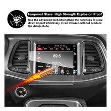 Protector de pantalla RUIYA para Dodge Challenger SRT 392 Hellcat Uconnect Pantalla de navegación gps para coche de 8,4 pulgadas, vidrio Templado 9H