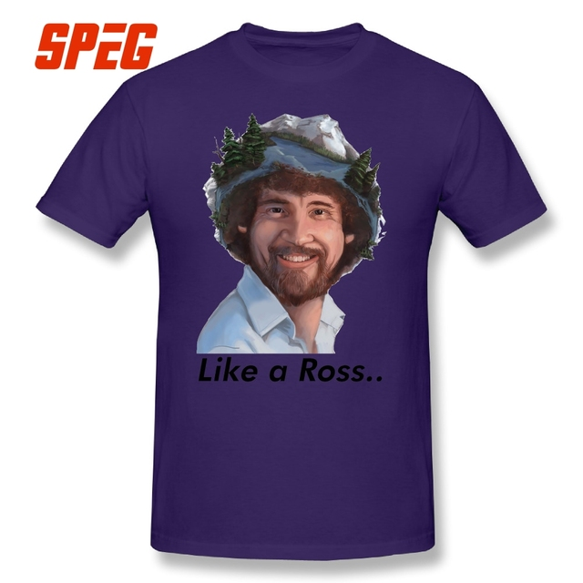 75c06a039894b T Shirts Bob Ross No Mistakes Just Happy Accidents Artist Tee Shirts ...