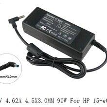 19,5 в 4.62A 4,5X3,0 мм 90 Вт для ноутбука hp Envy 17 Pavilion 15 15-e029TX зарядное устройство для ноутбука адаптер питания