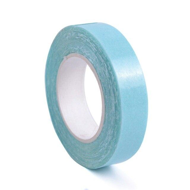 Новый 1 см x 3 м синий посвященный профессиональные Roll сильный клей двухсторонняя лента для волос