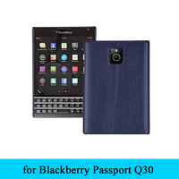 9 Color Back Phone Skin Cover Genuine Leather Case For Blackberry Passport Q30 Free Gift