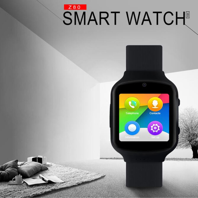 SURMOS Z80 Smart Watch 3G WIFI SOS Pedometer Health GPS Time Synchronization For Android 5 1