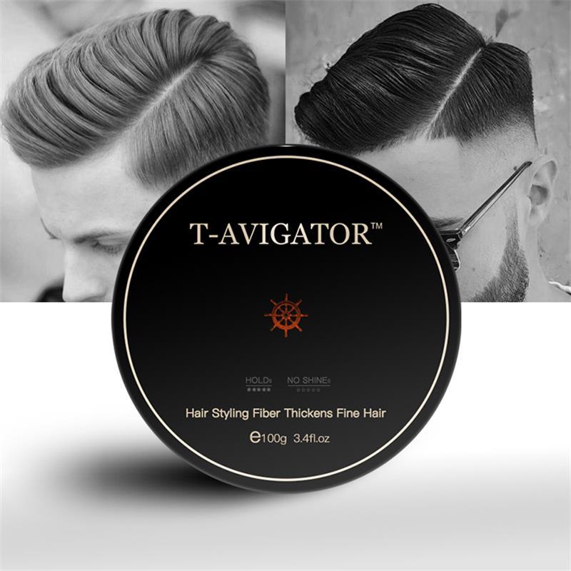 100g professionnel cheveux cire pommade longue durée moelleux cheveux pommade cire boue hommes crème Salon style Gel outil Transparent