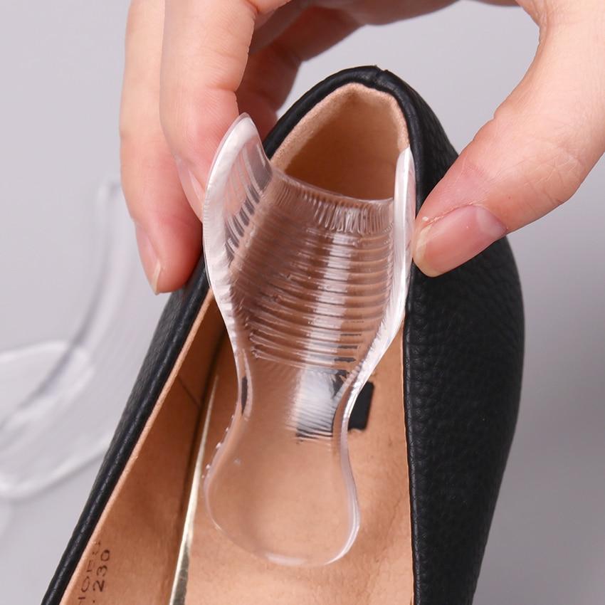 Invisible Silica Gel Sticker Slip-resistant Foot Shoe Sticker High Heel Shoe Pad
