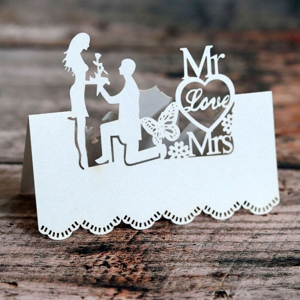 2mm Laser Cut Names Heart Personalised Wooden Family Tree