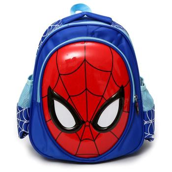 Cool Children's School Bags 3D Spiderman Cartoon School Backpack Bag For Boys Kids Satchel Mochila Infantil
