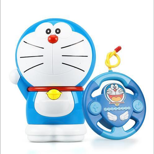 Doraemon intelligent remote control machine doll story Simple operation resistance to fall off playing children's toys