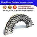 Blower Motor Resistor for Citroen Xsara Picasso &for Peugeot 206 307 OE#6441ZX, 6441AG, 6441CX, 6441K0, 5HL351321561,9140010283
