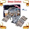 Новый DIY подарок Z-F005 международная космическая станция 3D модель Astronmy модель головоломка спутниковый вселенная оборудование образование головоломка
