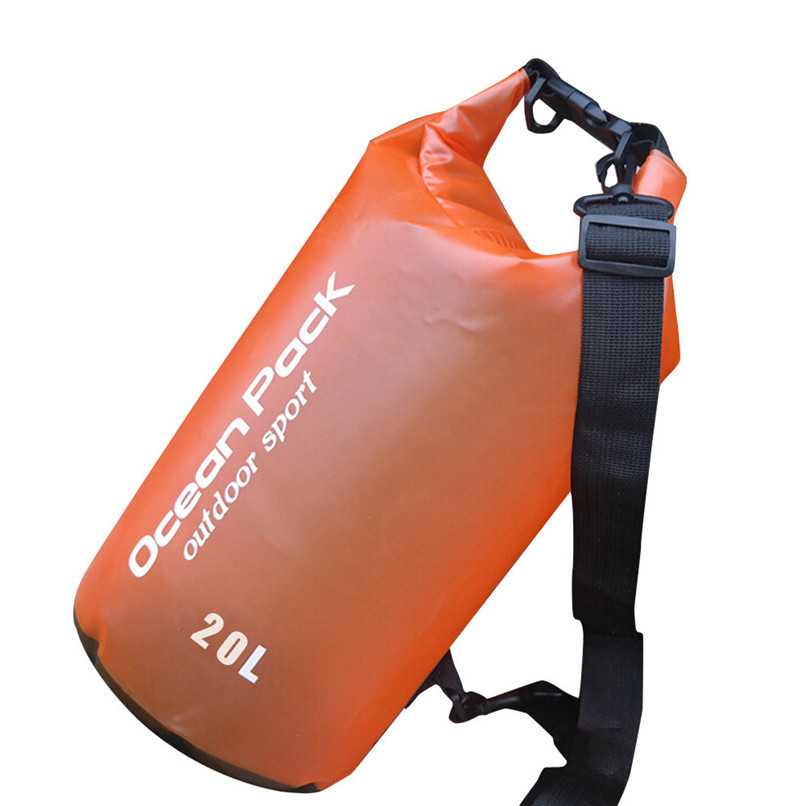 20L PVC Waterproof Dry Bag Outdoor Sport Swimming Rafting Kayaking Sailing Bag Outdoor waterproof bag #2f19 (3)