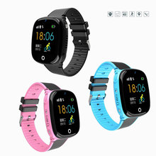 Kids Smart Watch with GPS Tracker SOS Children Connected Wrist Bracelet Sim Card Call Camera Turkish Russian Girl Digital-watch(China)