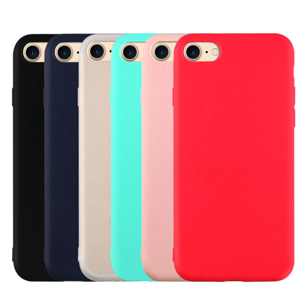 Soft TPU Phone Protective Case For iPhone XR XS MAX X 7 8 Plus Silicone Case For iPhone 6 6s Plus Xs Max Back Fundas Cover Coque