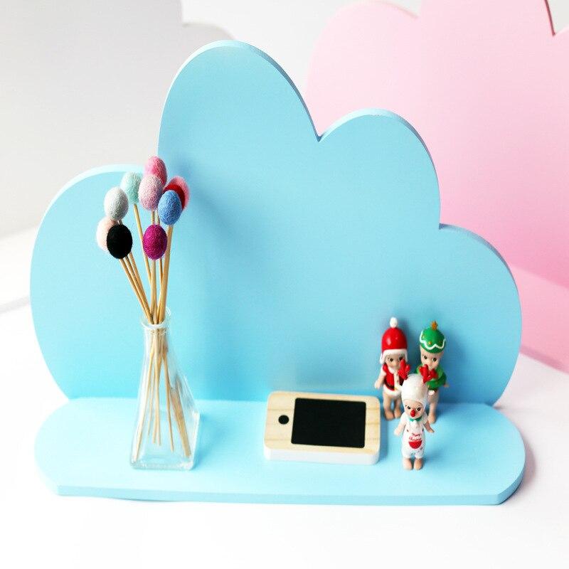 Style nordique pépinière décor nuage en bois enfants chambre décoration Style scandinave filles chambre décor nordique décoration pour chambre d'enfants