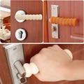 Fontes da Segurança do bebê Criança/Quarto Caso Pad Espiral Anti-colisão Porta Maçaneta Da Porta Lidar Com capa Protetora