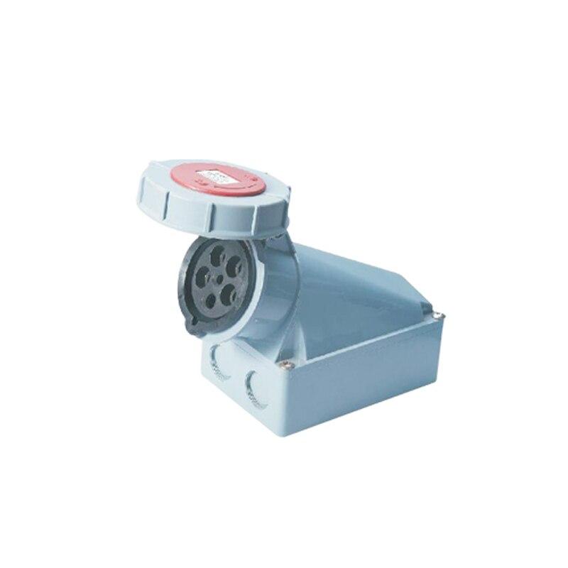 ФОТО 125A 5Pin 380-415V Novel industrial waterproof aviation socket Waterproof grade IP67 SFN-1452