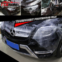 Transparent 3 Layers Paint Protection Film Car Wrap Clear Protect Film Thickness 0.2mm Size 1.52*30M/Roll