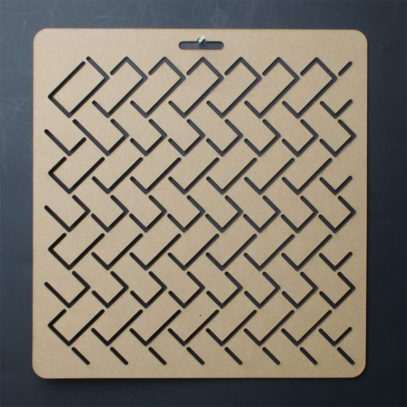 Higaki Graphics 20*20cm Costura Sashiko Stitching Embroidery Drawing Quilting Template,regua Para Patchwork Ruler Plotting Board