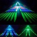 20 Вт 110 В 220 В 128 светодиодов RGBW двухголовый Airship проектор лампа Великобритания AU EU US Plug сценический эффект-M25