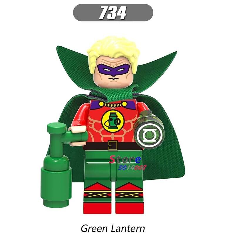 Single star wars super heroes marvel dc comics Arrow Green Lantern building blocks models bricks toys