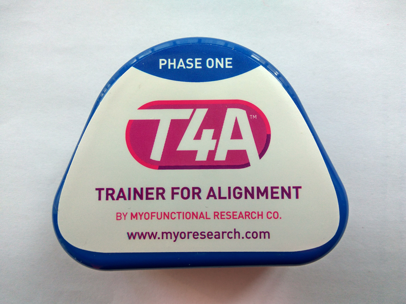 T4A Phase one Orthodontic Braces for 12 ages/MRC Orthodontic Trainer T4A Blue writing for literacy for ages 7 8