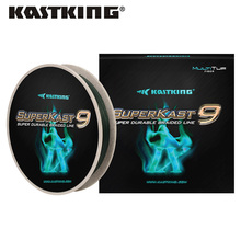 KastKing SuperKast 9 Strand 275m 10-80LB Moss Green Multifilament PE Braided Fishing Line  Freshwater and Saltwater Fishing