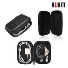 BUBM EVA hard Earphone box  headphone Carry Case  Earphone Accessories  Waterpoof Shockproof Protect Storage Bags