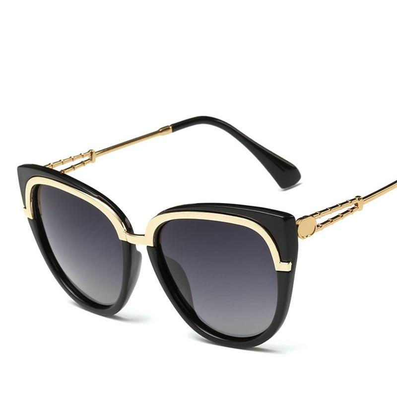 144c93029588c Óculos polarizados Óculos de Sol Das Mulheres Designer De Marca 2016 Moda  Clássica do Metal Feminino Esporte de Luxo Homens Óculos de Sol Oculos de  sol ...