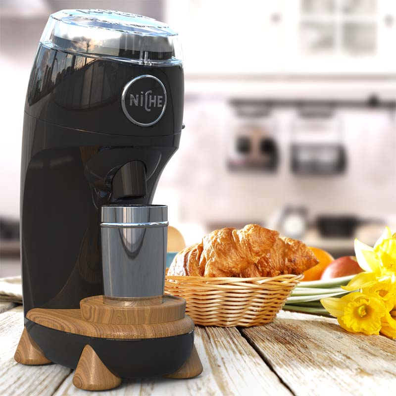 220v WPM Niche Zero  Coffee Grinder/1 Button Mini Professional Electric Conical Burr Coffee Grinder Aluminum Alloy Body