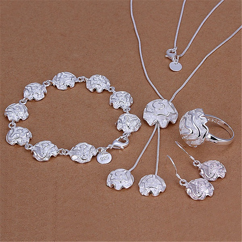 Silver Color Jewelry Noble...